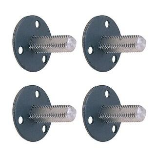 Steel Doorknob Dummy Spindle 1-3/8 Vintage Style Pack of 4