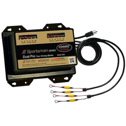 Dual Pro Sportsman Series Battery Charger - 20A Battery Charger