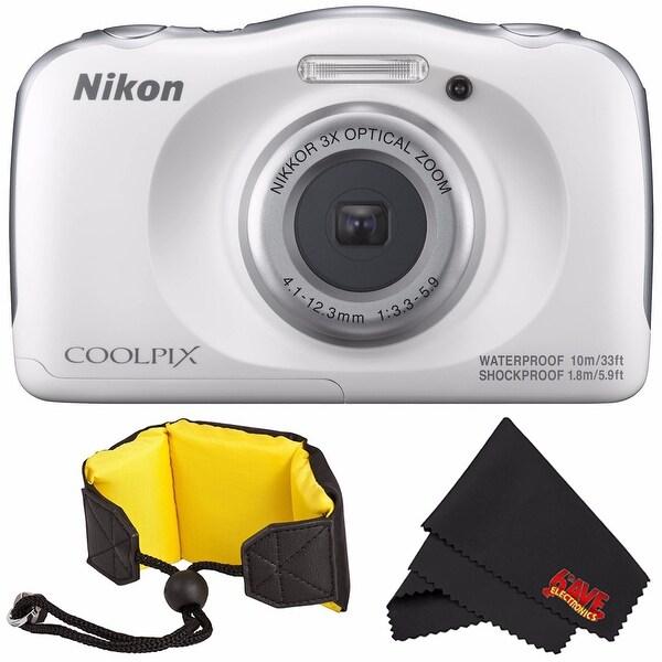 Microfiber Cloth Bundle: Shop Nikon COOLPIX W100 Digital Camera (White