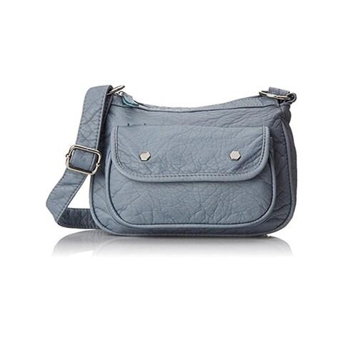 Wild Pair Womens Crossbody Handbag Faux Leather Adjustable Strap - small