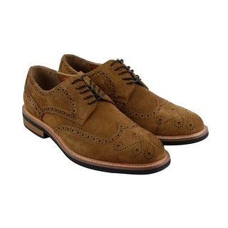 Kenneth Cole Reaction Design 20631 Mens Tan Suede Casual Dress Oxfords Shoes