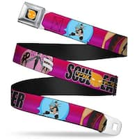 Soul Eater Logo Full Color Black Orange Soul Eater Black Star Maka Death Seatbelt Belt
