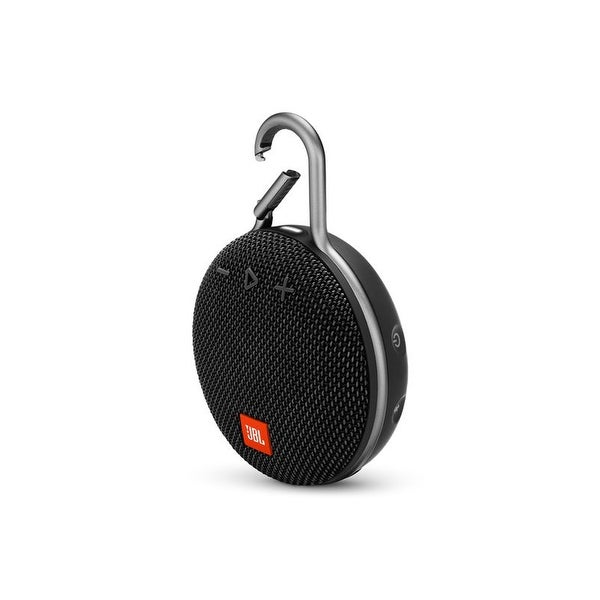 JBL Clip 3 Black Portable Bluetooth Speaker