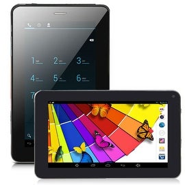 Indigi® 7inch 2-in-1 Android 4.2 Jellybean TabletPC + SmartPhone w/ Dual-Cameras + Dual-Sim + WiFi + Bluetooth Sync