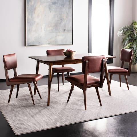 "SAFAVIEH Couture Aurora Dining Chair (Set of 2) - 18.1"" W x 22.8"" L x 35"" H"