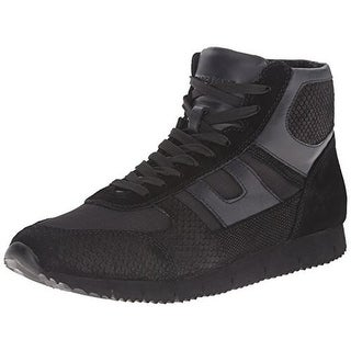 Marc Ecko Mens Beck Leather High Top Fashion Sneakers