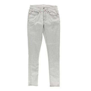 Eileen Fisher Womens Twill Low-Rise Skinny Jeans - 2