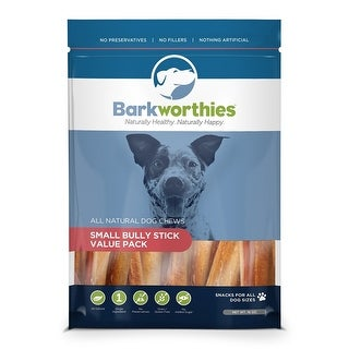 Barkworthies Dog Bully Stick Small Val Pak 1 lbs.
