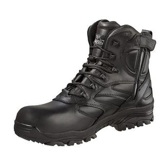 Thorogood Work Boots Men Uniform Waterproof Side Zip CT Black 804-6193
