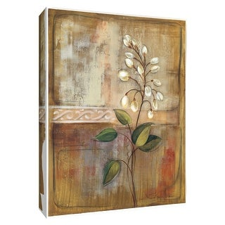 """PTM Images 9-154222  PTM Canvas Collection 10"""" x 8"""" - """"Gentle Blossoms II"""" Giclee Flowers Art Print on Canvas"""