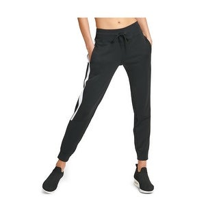Link to DKNY Women's Sport Colorblocked Joggers, Black, S Similar Items in Athletic Clothing