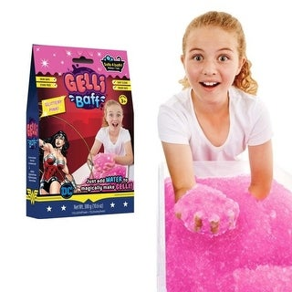 Glitter Pink GELLI Baff Bathtime Fun, Wonder Woman Pink 300g. 10.6oz
