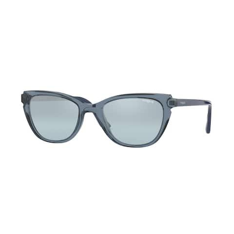 Vogue VO5293S 27647C 53 Transparent Blue/blue Woman Pillow Sunglasses