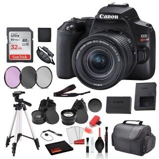 Link to Canon EOS Rebel SL3 Digital SLR Camera with 18-55mm Lens (3453C002) Similar Items in Digital Cameras