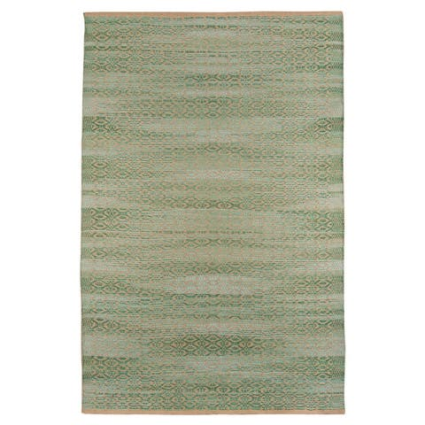 Shauna'h Flatweave All-Natural Jute/Rayon Area Rug