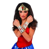 DC Comics Wonder Woman Costume Kit Adult One Size - Red