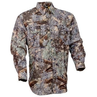 King's Camo Safari Hunter Series Long Sleeve Shirt Desert Shadow - Camouflage