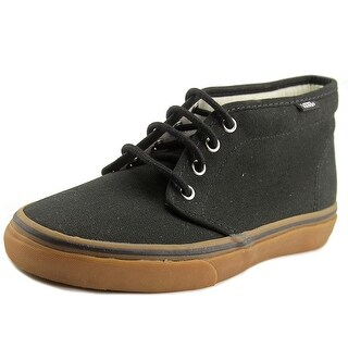 Vans Chukka Boot Men Round Toe Canvas Black Fashion Sneakers