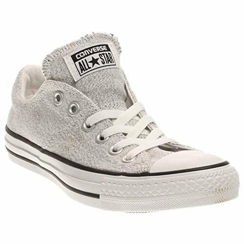 Shop Converse Womens Chuck Taylor All Star Madison Sneaker  White Black White 5 B(M) US Women   3 D(M) US Men - Free Shipping Today -  Overstock - 20976764 e5bba85e2