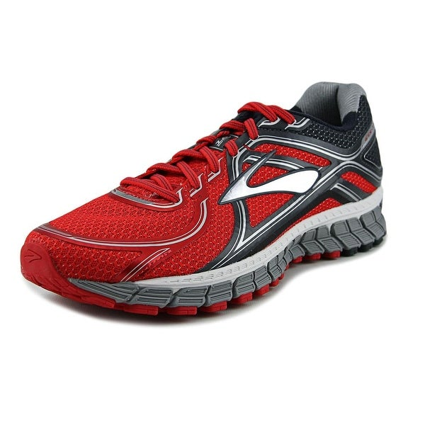 Brooks Adrenaline GTS 16 Men Round Toe Synthetic Red Trail Running