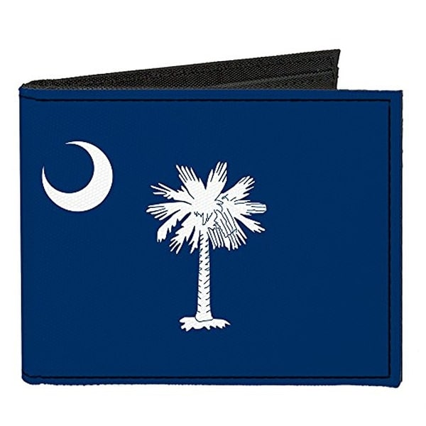 Buckle-Down Canvas Bi-fold Wallet - South Carolina Flag Accessory