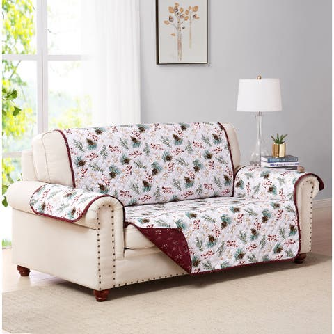 Pinecone Reversible Furniture Protector Sofa