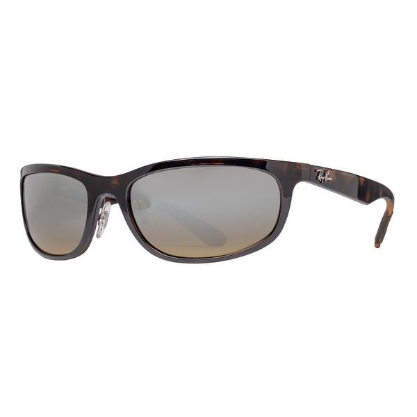 f7f9d7f039d Ray Ban RB4265 710 A2 Tortoise Brown Mirror Chromance Polarized Wrap  Sunglasses - tortoise brown