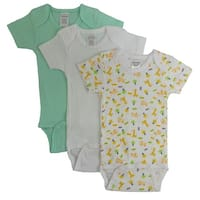 Bambini Boys' Printed Short Sleeve Variety Pack - Size - Newborn - Boy