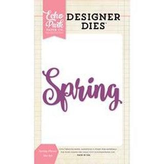 Spring Phrase - Echo Park Dies