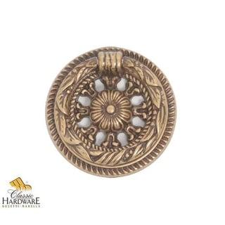 Bosetti Marella 100215 Louis XVI 2 Inch Diameter Ring Cabinet Pull