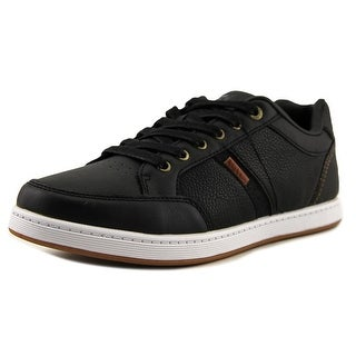 Levi's Gilroy Pebbled Men  Round Toe Synthetic Black Sneakers