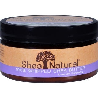 Shea Natural - Whipped Shea Butter Lavender Rosemary ( 2 - 6.3 OZ)
