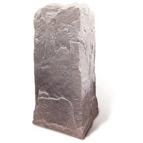 Artificial Rock Cover for Tall Telephone Cable Box