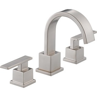 Delta 3553LF  Vero Widespread Bathroom Faucet with Pop-Up Drain Assembly