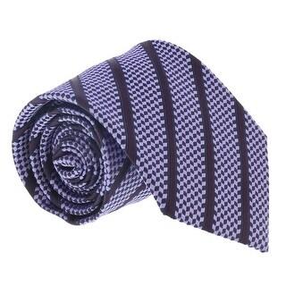 Ermenegildo Zegna Light Purple Cubic Stripe Tie - 60-3