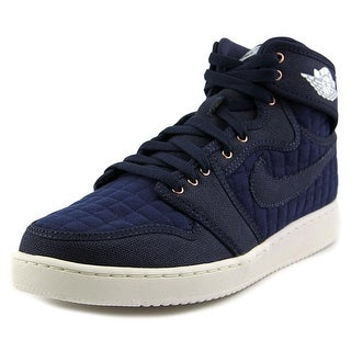 Nike AJ1 KO High OG Men Round Toe Synthetic Blue Basketball Shoe