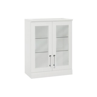 NewAge Products Home Bar Series Short Wall Cabinet