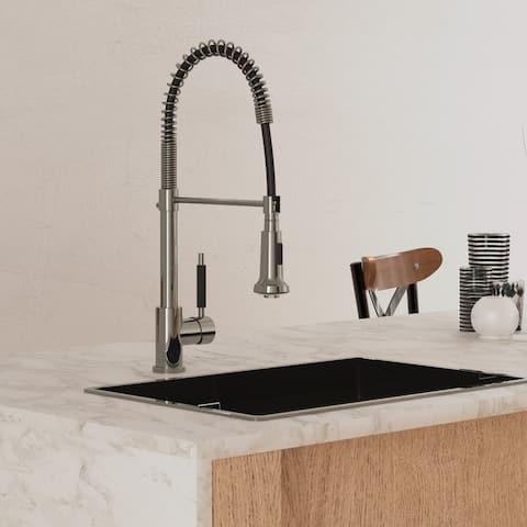 FV Talampaya, Kitchen Faucet Single Handle Bar with Pull Down Sprayer