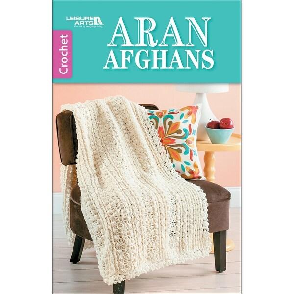 Leisure Arts-Aran Afghans