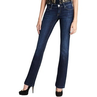 DL1961 Womens Cindy Slim Bootcut Jeans Stretch Low-Rise