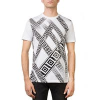 Versace Collection Men's Crew Neck Regular Fit T-Shirt White
