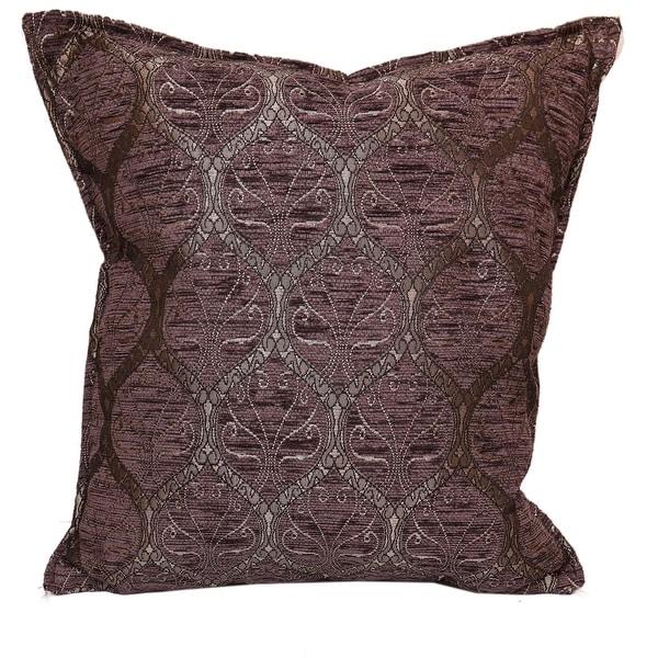 Trellis Myrtus Chenille Decorative Contemporary Turkish Pillow. Opens flyout.