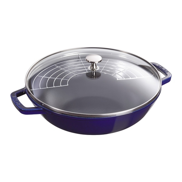 Staub Cast Iron 4.5-qt Perfect Pan. Opens flyout.