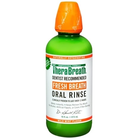 TheraBreath Fresh Breath Oral Rinse 16 oz