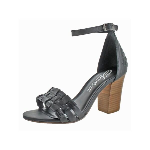 Sbicca Womens Brinley Dress Sandals Open Toe Stacked Heel