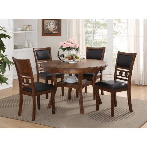 Copper Grove Creteil 5-piece Round Dining Table Set