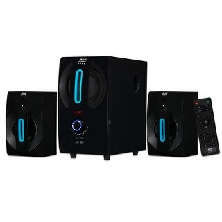 Blue Octave B22 Home 2.1 Powered Speaker System with USB / SD Inputs for PC TV Gaming