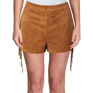 Vintage Savanna Womens Shorts Western Lace Up