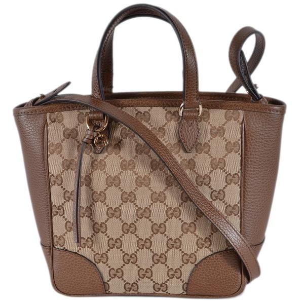 a35c73b2c13 Gucci Women  x27 s 449241 Beige Brown Small Bree GG Guccissima Crossbody Bag