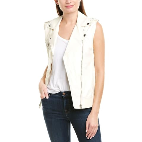 Pinko Illustre Leather Vest
